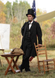 Fritz Klein as Abraham Lincoln