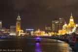 The Bund and Huangpu River, Shanghai, China