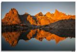 _Minaret Lake sunrise 10-25-14
