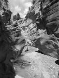 LB158303_walking out_slot canyon BW.jpg