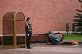 Guard at the tomb of unknown soldiers 无名战士墓