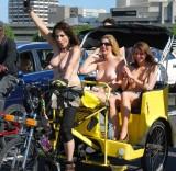 London World Naked Bike Ride 2013