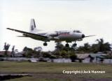HS-748 RP-C1021 landing at Jolo, Sulu (JOL/RPMJ)