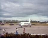 DVO propeller planes in 1979