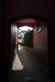 Arch way at Saffron Waldon Suffolk