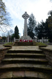 War Memorial at Epsom Downs Cemetery