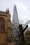 Southwark Cathedral - The Shard London