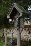 Seen in St Martins churchyard East Horsley Surrey