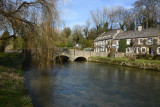 Bibury - A Cotswold village in Gloucestershire.
