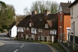 Wickham village, Hampshire.