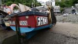 Clovelly harbour, Devon