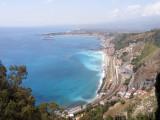 The lovely Sicilian garden town of Taormina