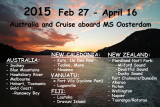 Australia and MV Oosterdam Cruise