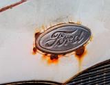 Rusty Ford Emblem