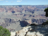 18. Tag, Dienstag 01. Oktober, Wanderung am Grand Canyon