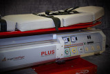 Medical Equipment on an Air Ambulance Jet