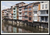 L'Agout waterside houses.