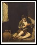 Le Jeune mendiant d'apres Murillo