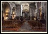 The ornate XVIIth century interior