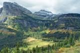 Glacier National Park Landscapes and Animals