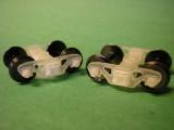 National Swing Motion Trucks, 70-ton, 33 wheels, 8 spring pack