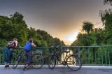 Evening Break on the Bridge