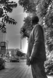 Statue Bauarbeiter