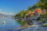 Varenna's  Small Harbor