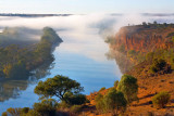 Post Dawn Mist on the Murray River
