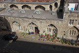 Some of the cottages. These are now homes to the Yeoman Warders, who have to live in the Tower