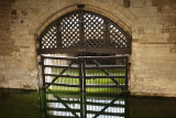 Traitors Gate. Provided direct access to the Tower from the river