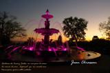 Fontaine de Tourny  en rose