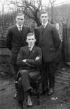 Samuel Shaw (standing left), Enos Shaw (seated) John Shaw (standing right)