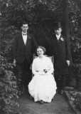 Richard Shaw right Mary Elizabeth Shaw seated-  Joseph Shaw standing left