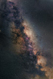 The Milky Way a 6 panel Panorama