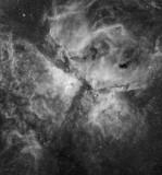 Eta Carina Nebula in Hydrogen Alpha