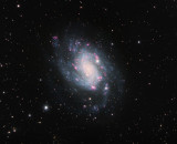 Southern Spiral Galaxy NGC300 15 hours 20 minutes