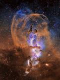NGC3576 crop view