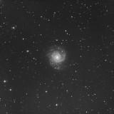 M74 Spiral Galaxy Luminance image