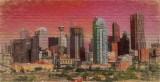 Cityscape on Brick