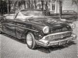 1957 Buick Special Sketch