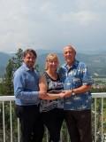 Mark, Martina and Dad
