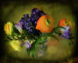 Old fashioned flowers....