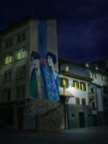 People in murals never sleep...