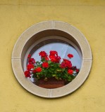 The small  round window...
