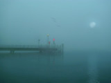 Who will land to the misty pier?