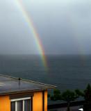 Rain & rainbow...