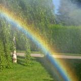 Custom made rainbow