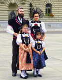 Swiss Traditional Costumes