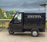 I think Professor Einstein would have liked to drive this vehicle...